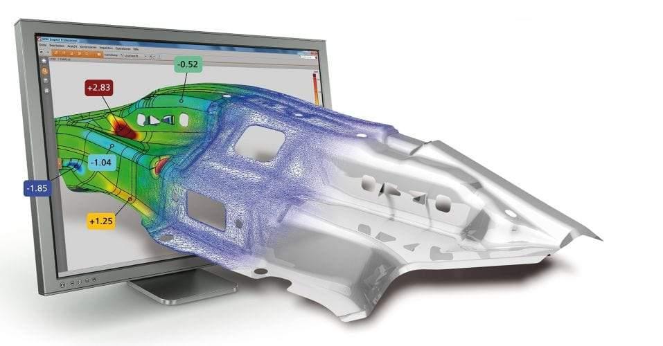 3D mjerenje i kontrola obrade lima