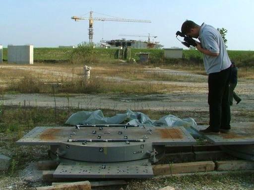 Terensko snimanje - kontrola geometrije mosta
