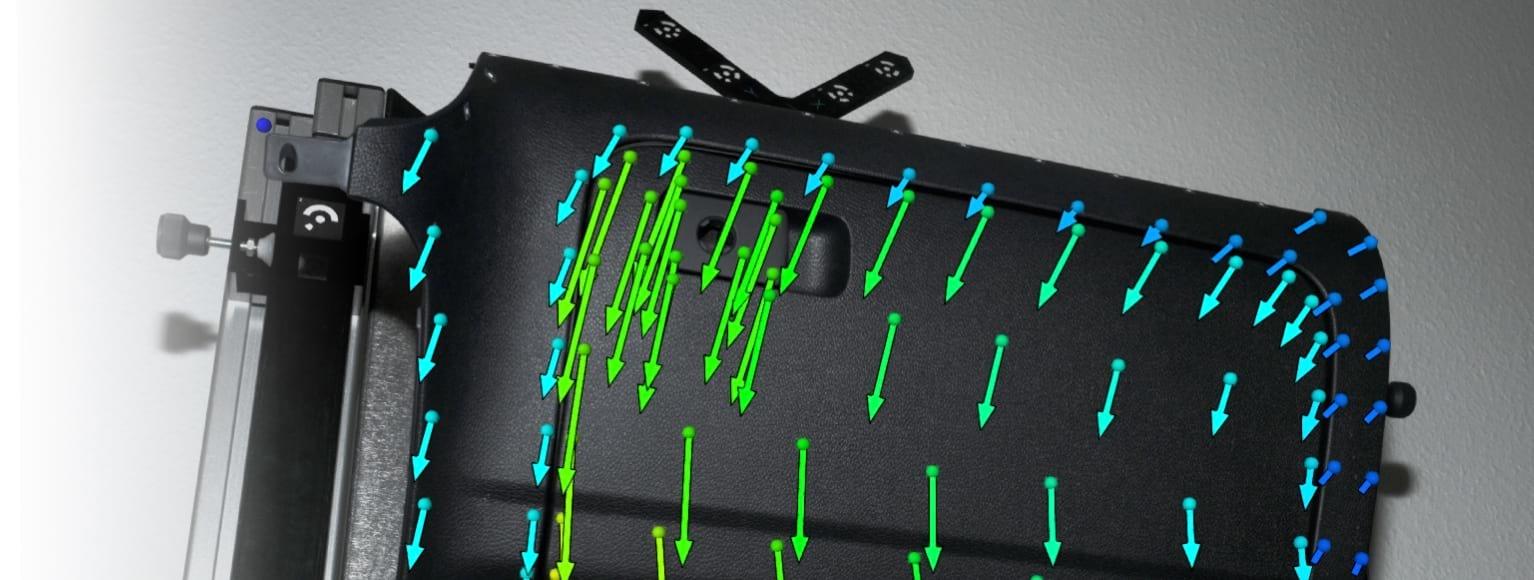 TRITOP prijenosni sustav za statičku analizu deformacija