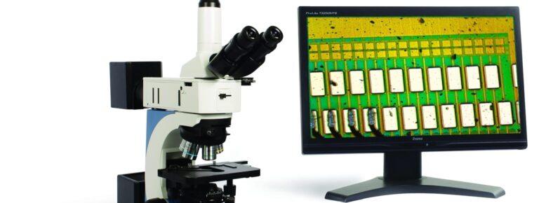TIM 5 metalurški mikroskop