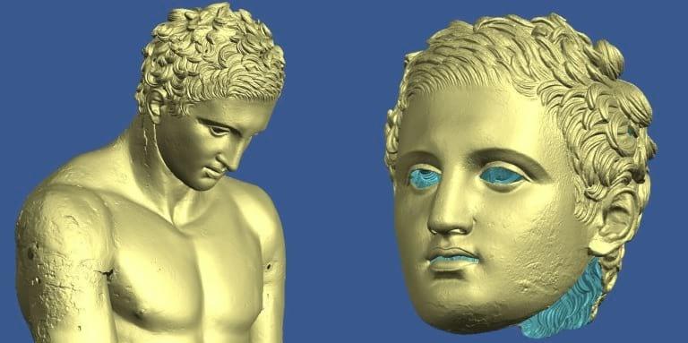rezultat digitalizacije Apoksiomena
