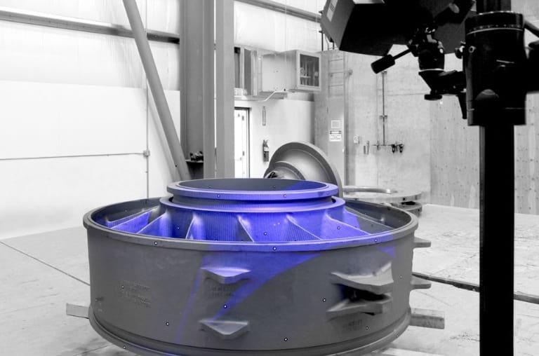 Bradken ljevaonica - skeniranje sustavom ATOS