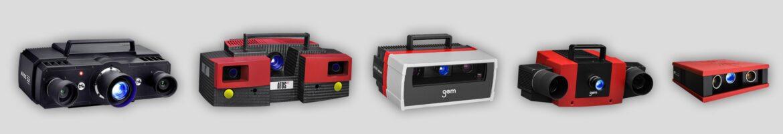 GOM ATOS 3D skeneri - svi aktualni modeli mjernih uređaja
