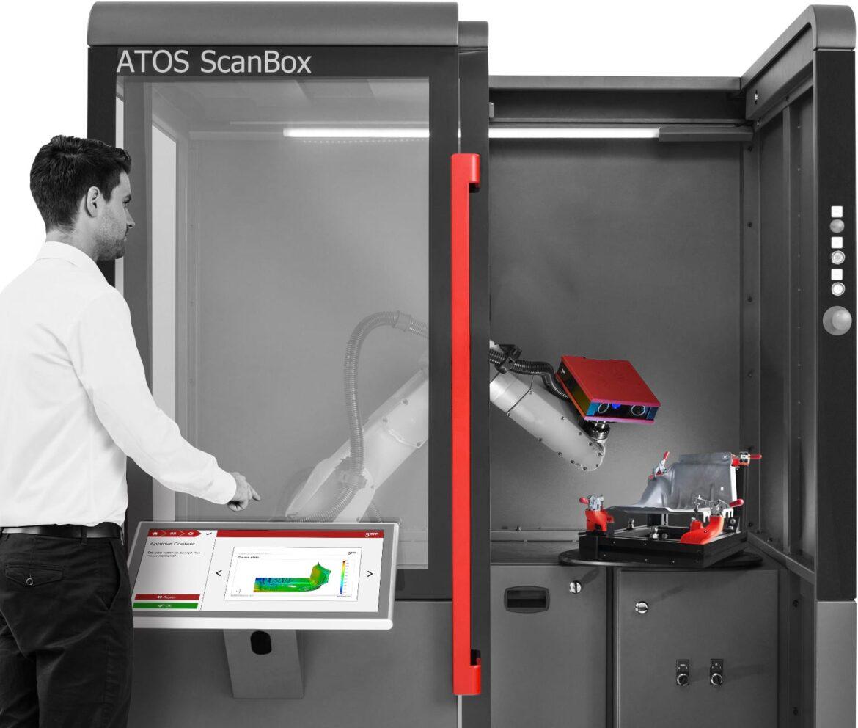 Automatizirano 3D mjerenje - ATOS Scanbox