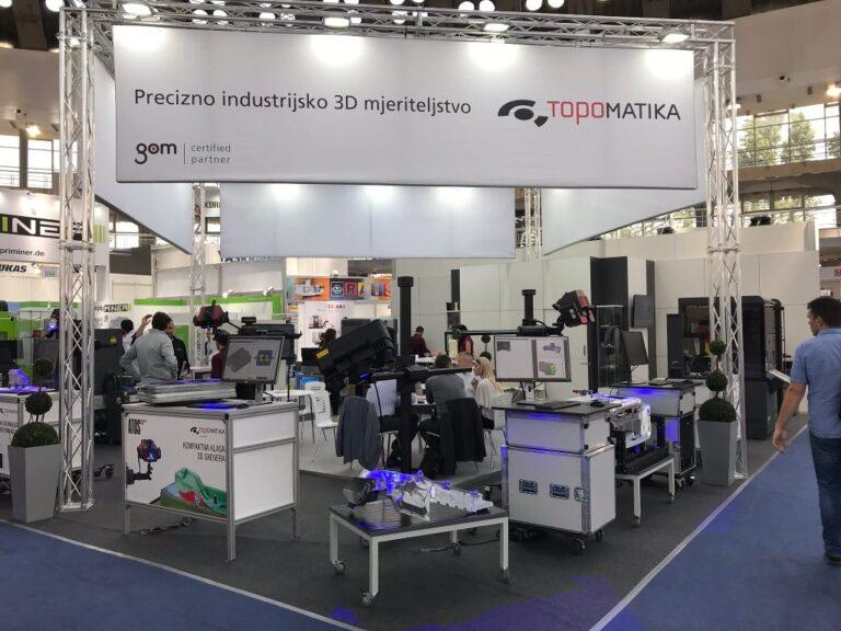 GOM ATOS ndustrijski 3D skeneri