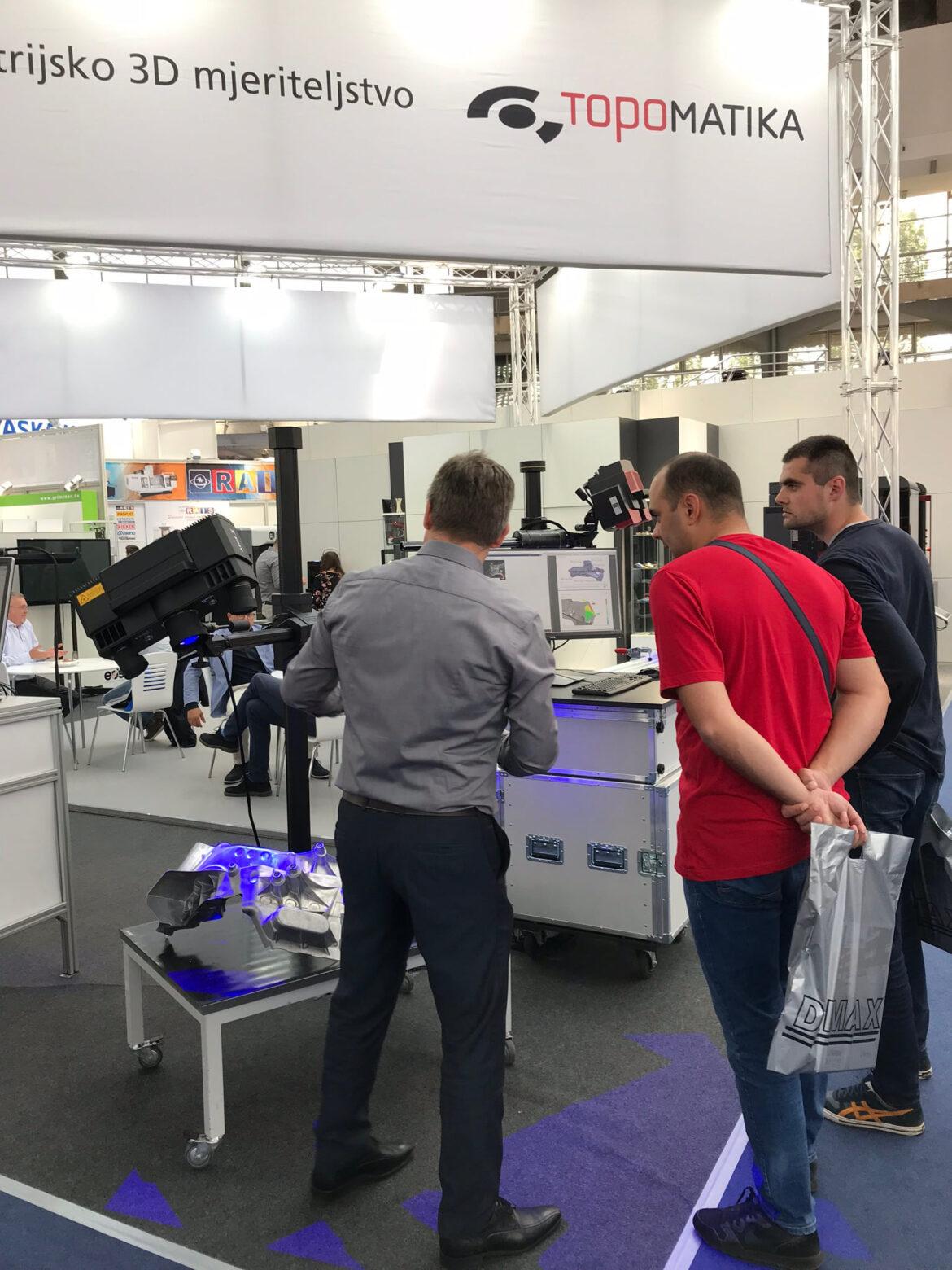 3D skeniranje na Sajmu tehnike