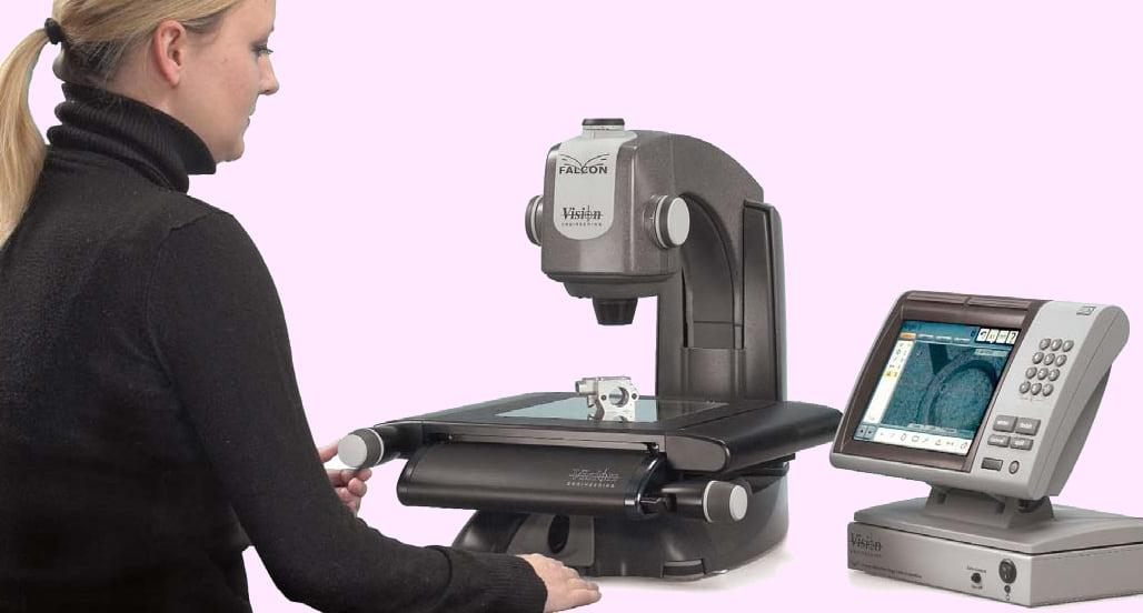 Falcon video mjerni mikroskop za precizno troosno mjerenje