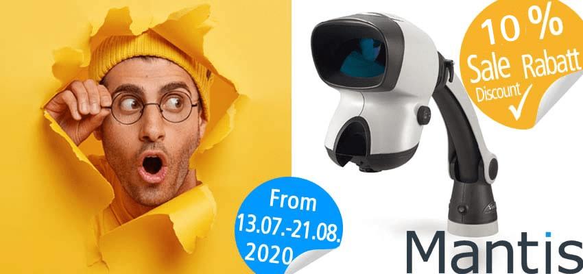 Vision ljetna akcija MANTIS mikroskopa